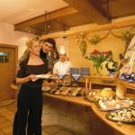 Exquisite Küche für die Hotelgäste des Cinderellas im Skigebiet von Obertauern