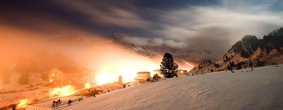 Höhenskigebiet Obertauern mit Schneesicherheit
